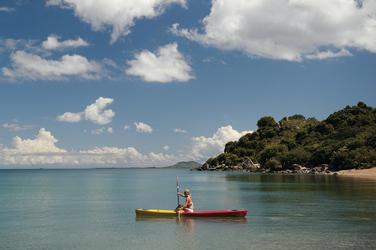 Sportlich aktiv auf dem See