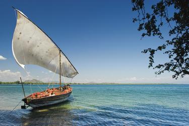 Dhow auf dem Malawi See