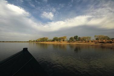 Auf dem Fluss im Liwonde Nationalpark