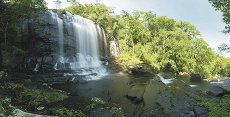 Wasserfall im Gorongosa NP