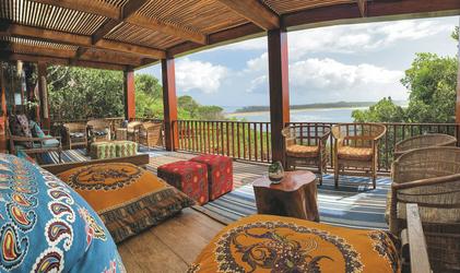 Lounge mit toller Aussicht