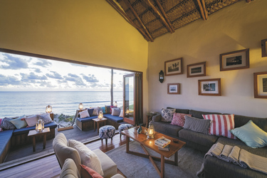 Lounge mit Meerblick, ©EM Gatland