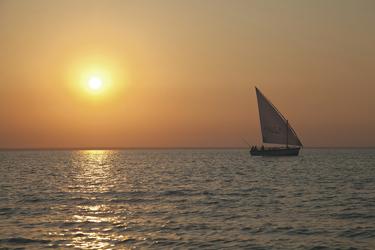 Dhowfahrt zum Sonnenuntergang