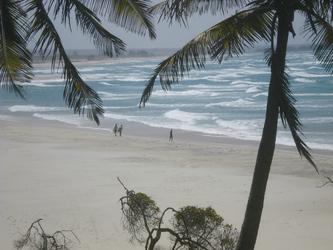 Am Strand von Pomene