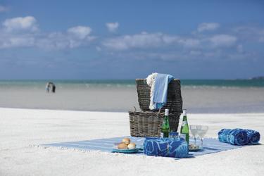 Zweisamkeit am Strand genießen