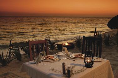 Romantische Abende am Strand