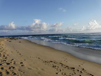 Am Strand von Praia do Tofo
