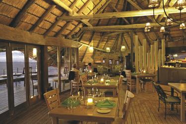 Abends im Restaurant