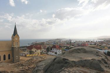 Blick über Lüderitz