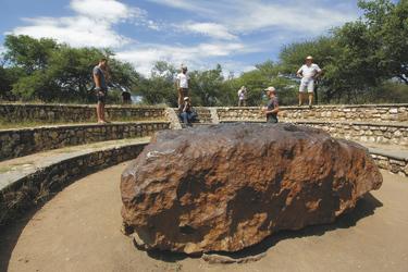 Der Hoba Meteorit