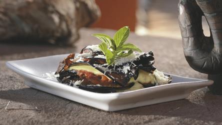 Namibisch-italienische Küche ist die Spezialität der Elephant Lodge