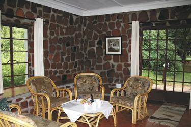 Loungebereich im Familienzimmer