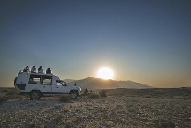 Ausflug zum Sonnenuntergang