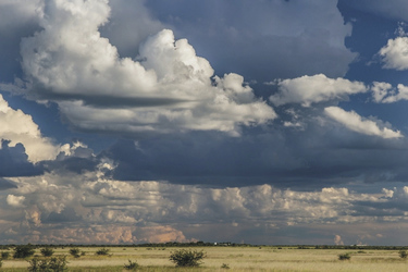 Dramatische Regenwolken, ©Ute von Ludwiger