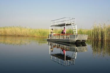 Auf dem Kwando River