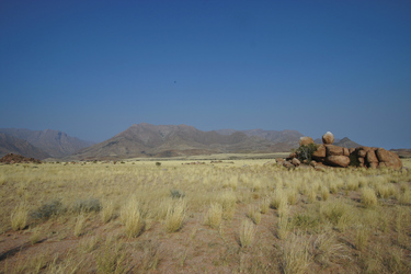 Landschaft im Damaraland