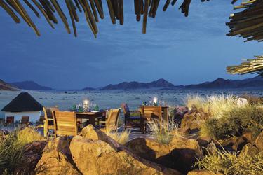 Abendstimmung in der Namib