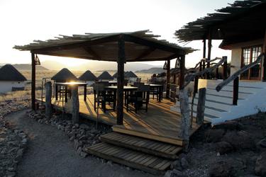 Abendstimmung auf Desert Homestead