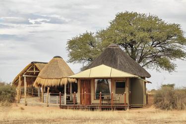 Gemütliche Safarizelte