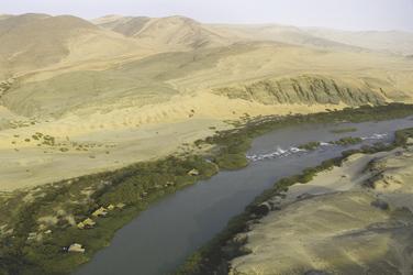 Landschaft Namibias