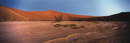 Landschaft bei der Sossus Dune Lodge