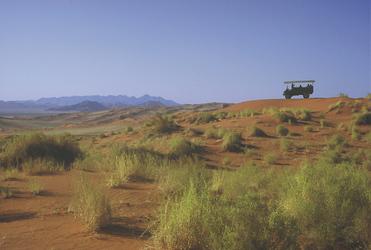 Rundfahrt durch die Namib Wüste
