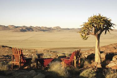 Blick in die Weite Namibias