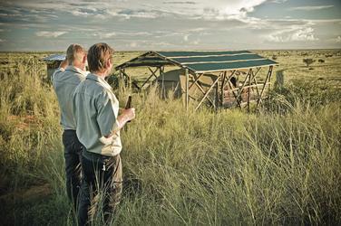 Trans-Kalahari Wanderung