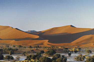 Im Dünengebiet von Sossusvlei