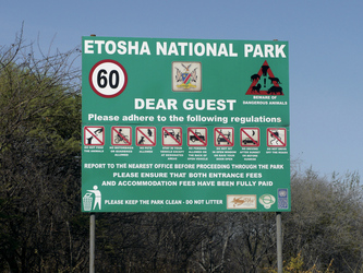 Am Etosha Nationalpark