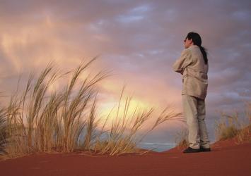 Wolkenspiel im NambiRand Naturereservat