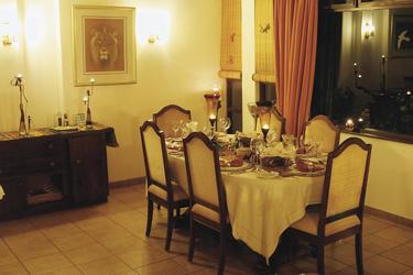Stilvoll speisen am Abend
