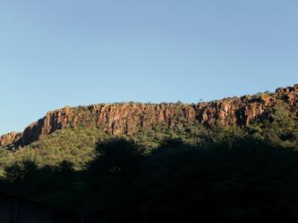 Herrliches Bergpanorama am Waterberg