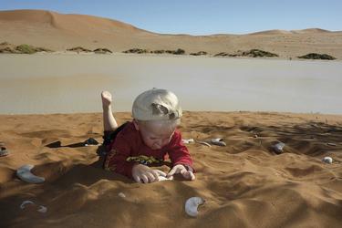 Für Kinder ein riesiger Sandkasten