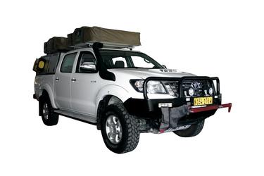 Kat. T+, Toyota Hilux 3.0 Double Cab 4x4 mit 2 Dachzelten
