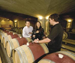 Weinprobe im Weinkeller