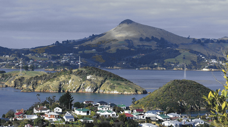 Malerische Halbinsel Otago