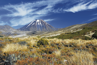 Ngauruhoe Vulkan im Tongariro National Park