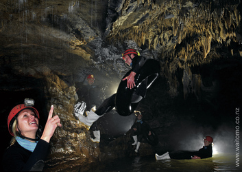 In den Waitomo Caves