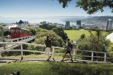 Blick auf Wellington ©Julian Apse