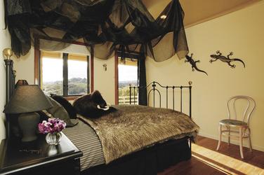 Individuell dekorierte Zimmer