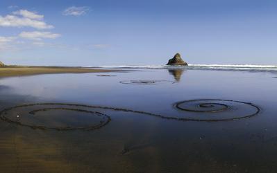 Strand auf der Nordinsel