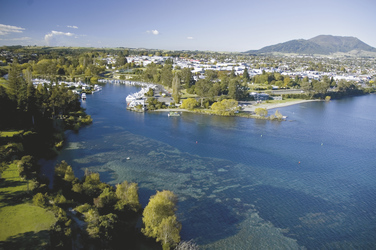 Ein Tag in Taupo