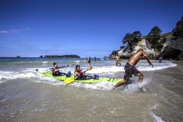 Kayaking Coromandel Halbinsel