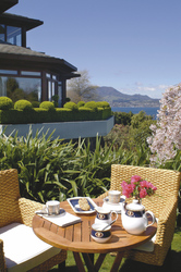 Lake Taupo Lodge, Terrasse