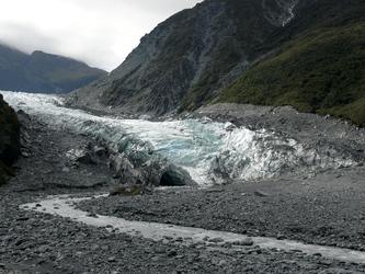 Gletscher auf der Südinsel