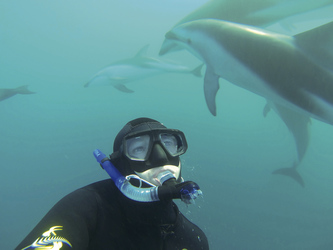 Unterwasserbegegnung