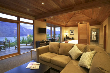 Lounge im Haupthaus