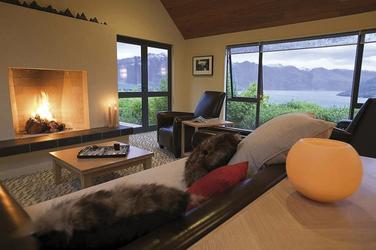 Gästelounge - Azur Lodge