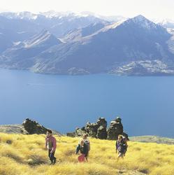 Wanderung im Fiordland Nationalpark